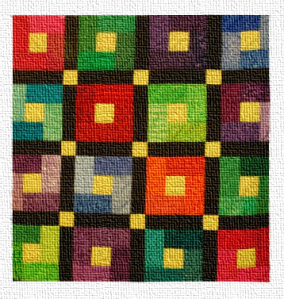 "Inset from Carrol Grady's ""Baby Quilt for Samuel Joseph"" (2009)"
