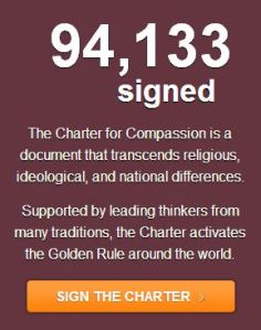 94,133rd Signatory of the Charter for Compassion