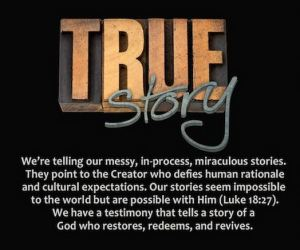 "Exodus ""True Story"" graphic from their conference website."