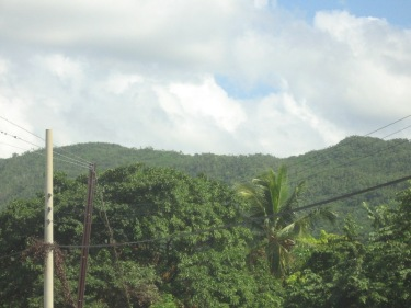 Photo of the hills, Manchester, Jamaica