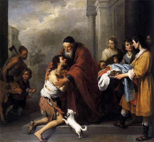 Return of the Prodigal Son (Murillo,