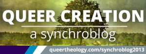 Logo for Queer Creation Synchroblog 2013