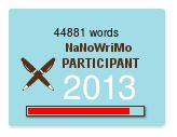44,881 words | NaNoWriMo Participant 2013